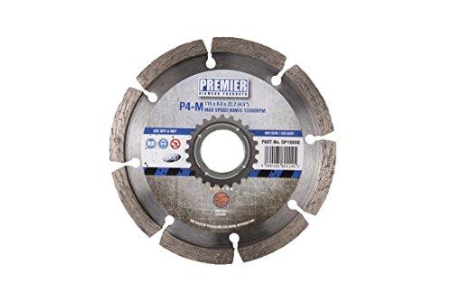 550p4-m Klinge für Mörtel Rechen, silber, 115x 6x 22,2mm ()
