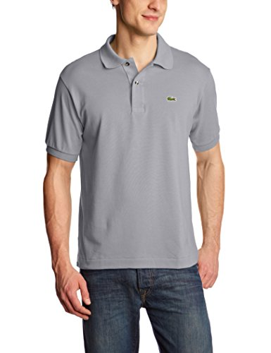 Lacoste Men's L1212 Original Polo Shirt, Gray (Platinum), Small (Manufacturer size: 3)