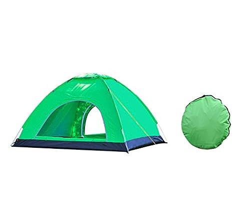 Pop Up Tente extérieure 3–4l'homme de 2secondes Vitesse automatique ouverte Tente Abri Soleil UPF 50+ protection pour camping pêche randonnée pique-nique