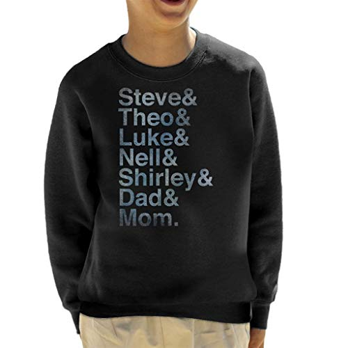 The Haunting of Hill House Character Names Kid's Sweatshirt