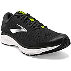 Brooks Aduro 6, Scarpe da Running Uomo, Multicolore (Ebony/Lime Punch/White 095), 43 EU