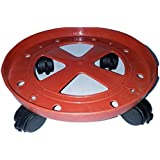 Capital Gas Cylinder Plastic Trolley with Wheels, Trolly,LPG Stand, Colour May Vary