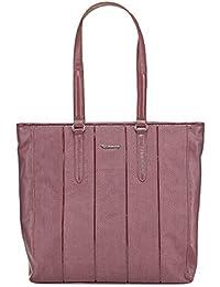 TAMARIS ANDROMEDA Handtasche, Schultertasche, Snake-Look + Lack-Optik , 4 Farben: schwarz, graphite grau, cafe braun oder bordeaux rot