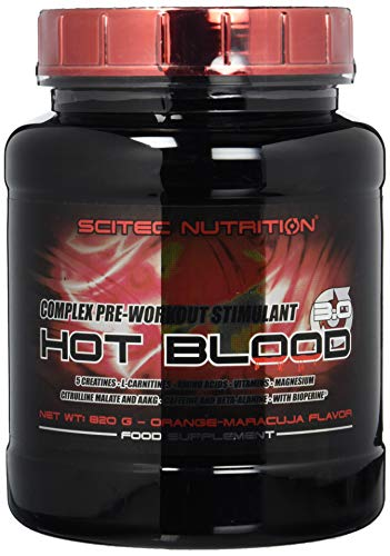 Scitec Nutrition Pre-workout  Hot Blood, Orange-Maracuja, 820g Gain-booster