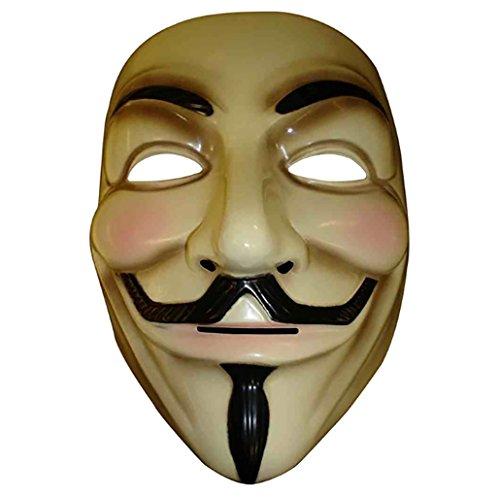 Máscara ANONYMOUS - V FOR VENDETTA - REVOLUTION - crema
