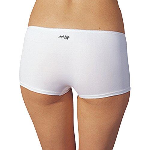 SPEIDEL Damen Pants 5er Pack - MAGIC HIP 9412 extra für Hüfthosen - Farbe Weiss, Schwarz, Skin, Gr. 36-44 Schwarz