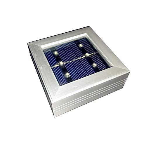 pyty123 Solar Lawn Square Fliese Licht Led Begraben Licht Landschaftslicht