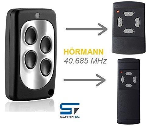 Handsender 40,685 MHz für Hörmann Garagentorantrieb ersetzt HSM 4 - HS 4 - HSE 2 Garagentoröffner - Funk 40 MHz
