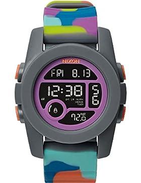 Nixon Unisex-Armbanduhr Unit 40 Digital Quarz Plastik A4901988-00
