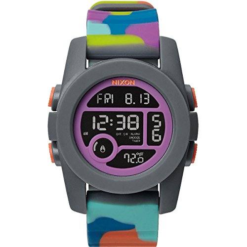 Nixon-unit Uhren Männer (Nixon Unisex-Armbanduhr Unit 40 Digital Quarz Plastik A4901988-00)