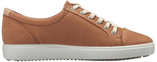 Ecco Damen Soft 7 Sneaker Braun (Cashmere)