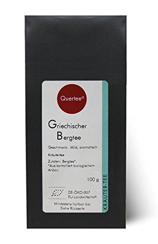 Griechischer Bergtee Bio - Sideritis scardica - Griechisches Eisenkraut - Kräutertee - Biotee - 100 g