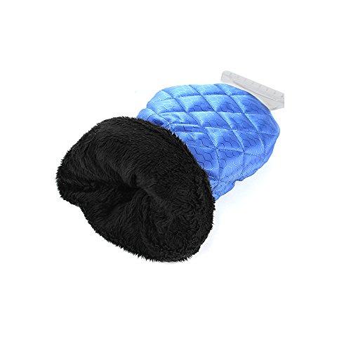 Raschietto-per-ghiaccio-con-guanto-e-piccolo-portatile-Ice-Frost-Remover-lavavetri-per-auto-2-diversi-pezzi