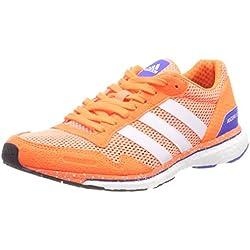 Adidas Adizero Adios w, Zapatillas de Trail Running para Mujer, (Cortiz/Ftwbla/Naranj 000), 39 1/3 EU