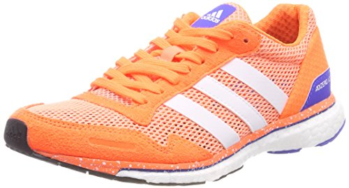 adidas Adizero Adios w, Zapatillas de Trail Running Para Mujer, Naranja (Cortiz/Ftwbla/Naranj 000), 38 2/3 EU
