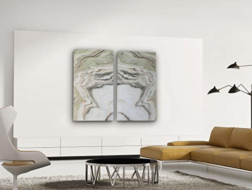 Sölker Marmor, Infrarotheizung Marmorheizung 2x 1200 Watt gespiegelt, inkl. Montagematerial und Thermostat