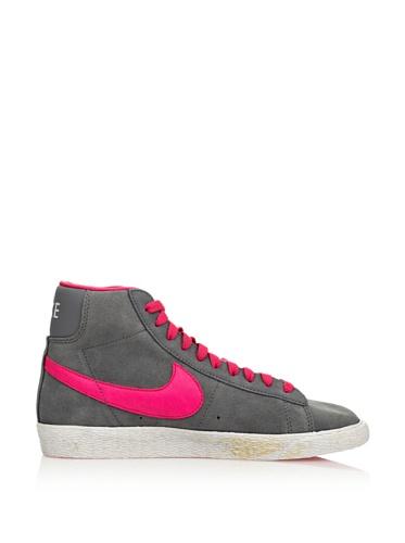 Nike  Blazer Mid Vintage (GS), Baskets hautes fille Gris
