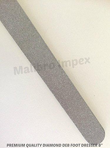 Malibro® Spezial Angebot Diamant Deb Fuß Dresser & Diamant Deb Nagelfeile 8 Zoll Edelstahl CE Zeichen (Diamant-dresser)