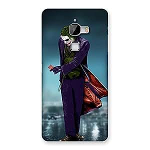 Stylish Premier Psyco Multicolor Back Case Cover for LeTv Le Max