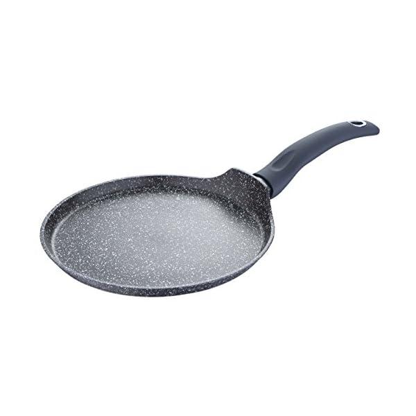 Bergner Orion Pancake Pan, Black, 24 x 1.8 cm 1