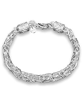Damen Armband Armschmuck Armkette Armreifen 925 Sterling Silber Weinachten Geschenk für Kinder Mädchen
