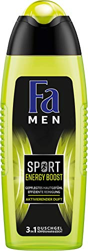 Fa Men Sport Energy Boost Duschgel, 1er Pack (1 x 250 ml)
