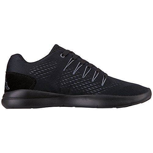 Kappa Nexus, Baskets Mixte Adulte Schwarz (1111 Black)