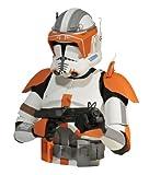 Diamond Select Star Wars The Clone Wars Spardose Commander Cody 20 cm