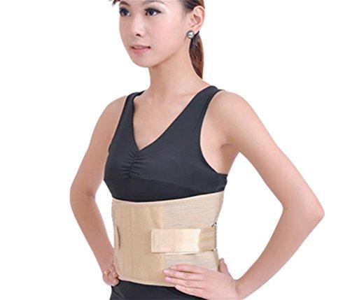 liu Lendenwirbelstütze Rückenbandage Rücken Gurt, Haltungskorrektor und chronische Rückenschmerzen Relief Geeignet für aktive Männer und Frauen, 40 inches - 46 inches -