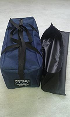 Sea Fishing Fish Catch Bag. Utility bag for boat or shore fishing. Bait & Accessory Bag from Midwater Luggage