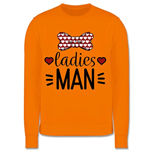 Kostüm Womens Zwerge 7 - Shirtracer Anlässe Kinder - Ladies Man - 7-8 Jahre (128) - Orange - JH030K - Kinder Pullover
