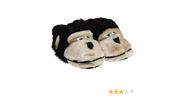 28d8d35915f8 Mens Animal Monkey Slippers (UK 7-8