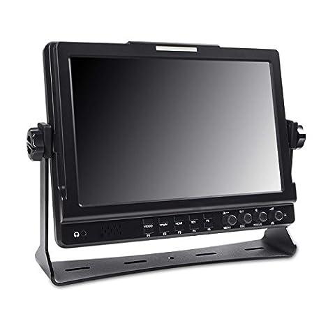 'Take® tk-mips101Moniteur 10,11280x 800IPS HDMI input/output pour tous les appareils photo Canon, Nikon, Panasonic, Sony, Olympus, câble HDMI-miniHDMI inclus
