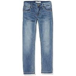 Name It Nkmtheo Dnmthayer 1166 SWE Pant Noos Jeans, Bleu (Light Blue Denim Light Blue Denim), 164 Garçon