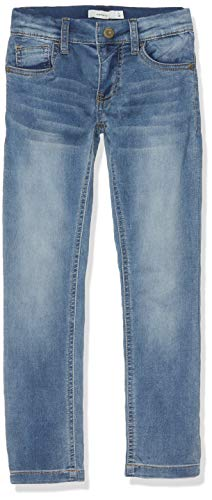NAME IT Jungen Jeans NKMTHEO DNMTHAYER 1166 SWE Pant NOOS, Blau (Light Blue Denim), (Herstellergröße:134)