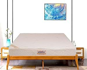 Springtek Ortho Bonnel 8-inch King Size Mattress (White, 78x72x8)