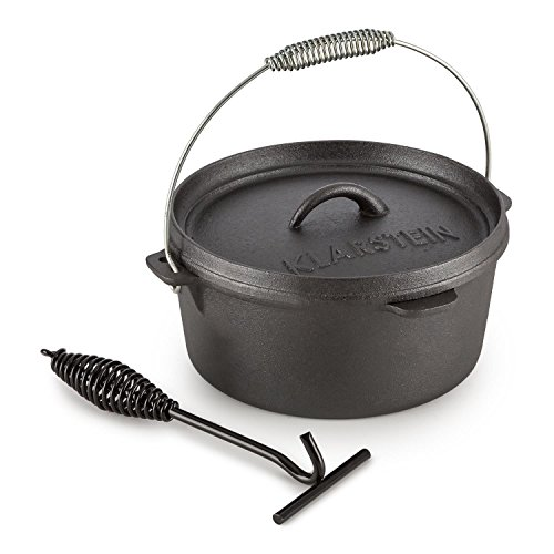Klarstein Hotrod 45 Cocotte BBQ 4,5 qt / 4 litres Fonte – noir