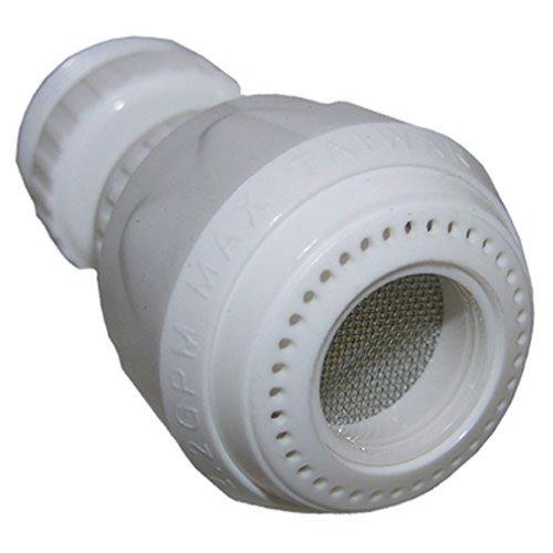 LASCO 09-1219 Dual Thread Swivel Spray Faucet, White by LASCO (Swivel Spray)