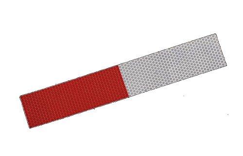 Preisvergleich Produktbild 20 Reflexstreifen RA2 300x50mm Reflexfolie Reflektorfolie Reflexband