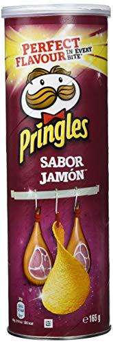 Pringles Snack de Patata con Sabor a Jamón - 165 g