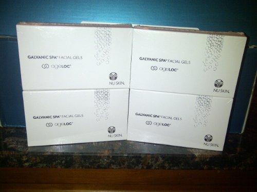 nic Facial Spa Gel - 4 packs by NuSkin (Nu Skin Spa Gel)