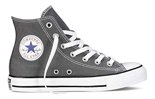Converse Chuck Taylor All Star Toddler High Top, Scarpe per bambini, Grigio (Charcoal), 25 EU