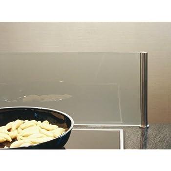 Küchenrückwand auf der Arbeitsplatte - Spritzschutz Küche mit ...