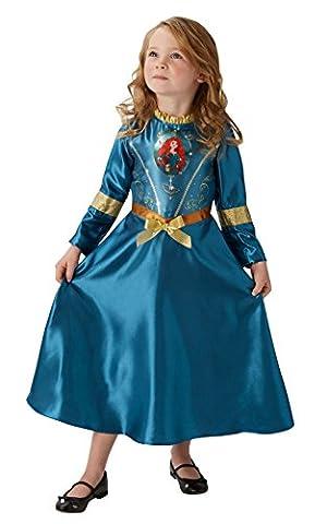 Costumes De Conte De Fées Pour Enfants - Rubie's officielle Merida Fille Déguisement Princesse Disney