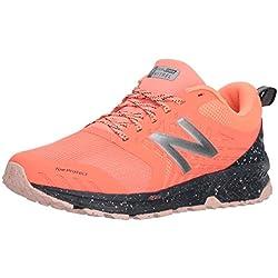 New Balance Nitrel V1, Zapatillas de Running para Asfalto para Mujer, Rosa (Fiji/Outerspace/Dragonfruit Rf1), 38 EU