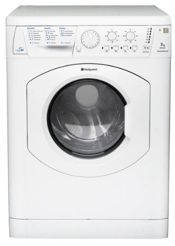 Hotpoint WDL520P Aquarius Washer Dryer in White