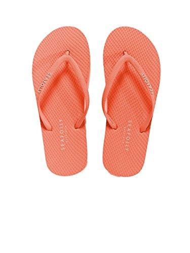 Tongs Seafolly Orange Divine Orange