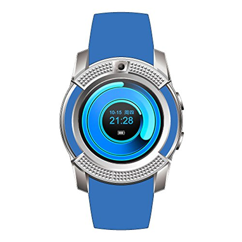 Samsung Galaxy Grand 2 SM-G7102 Compatible Bluetooth Smartwatch With Sim & Tf Card Support With Apps Like Facebook And Whatsapp Touch Screen Multilanguage Android/Ios Mobile Phone Wrist Watch Phone With Activity Trackers And Fitness Band Supported Devices -BY MOBIMINT  available at amazon for Rs.1999