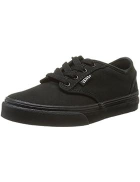 [Patrocinado]Vans Y ATWOOD (CANVAS) BLACK/ - Zapatillas de lona infantil