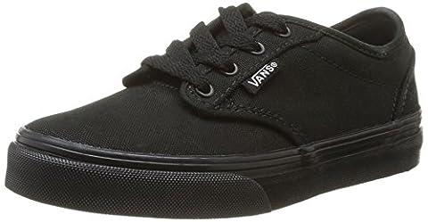 Vans Atwood, Unisex-Kinder Sneakers, Schwarz ((Canvas) Black/ 186), 39 EU